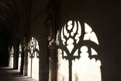 Shadow of Cloister Open Air Windows