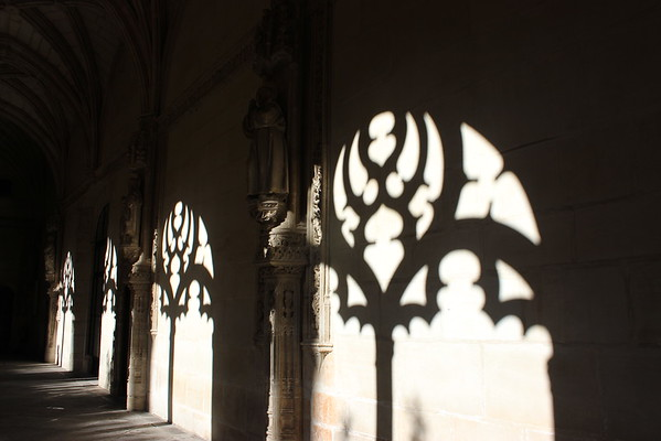 Shadow of Cloister Open Air Windows