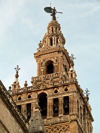 Seville Cathedral and La Giralda atop the bell tower.