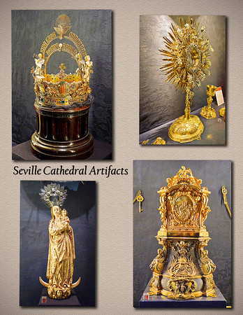Seville Cathedral Artifacts