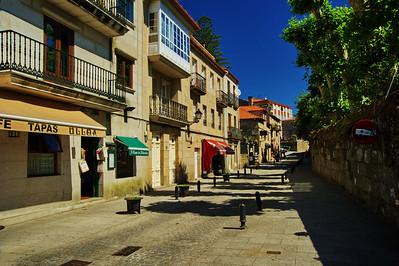 Spanish street, Vigo, Spain
