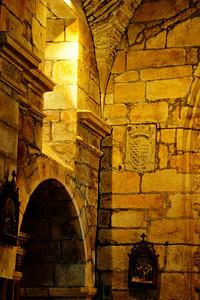 Interior of the church, Vigo, Spain