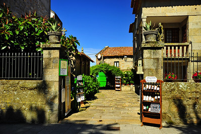 Courtyard, Vigo, Spain
