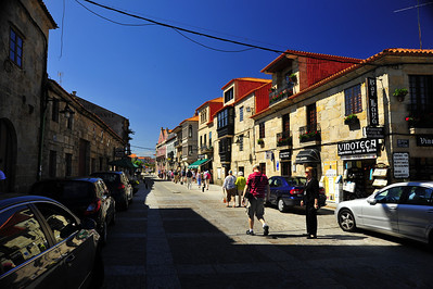 MA waiting for the photographer, Vigo, Spain