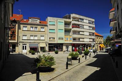 Small square with ATM machine! Vigo, Spain