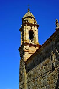 Church steeple, Vigo, Spain