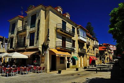 Cafe on the street, Vigo, Spain