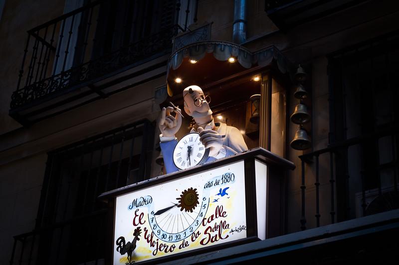 El Relojero de la Calle de la Sal