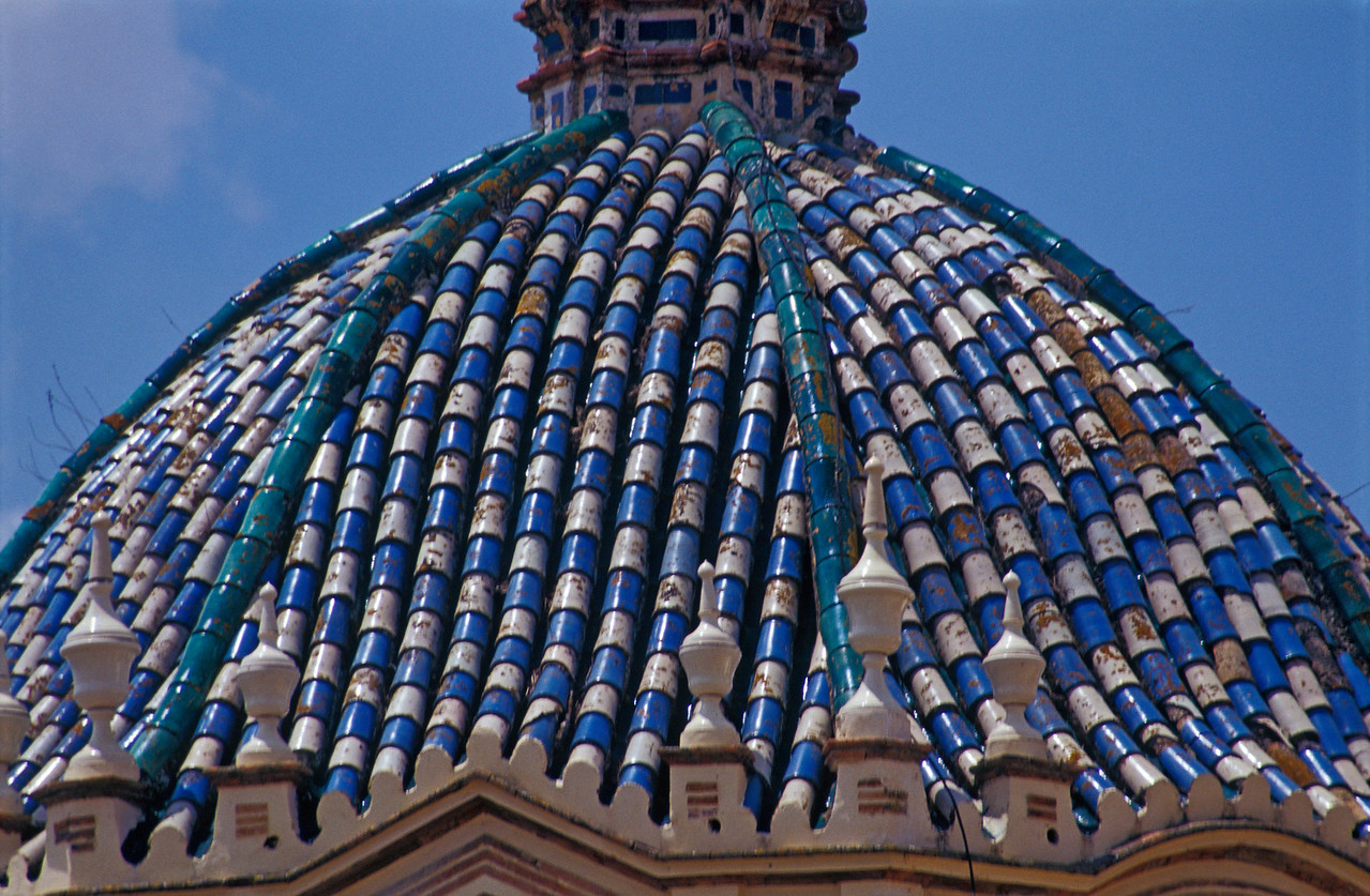 Dome of San Pedro  Church, Carmona