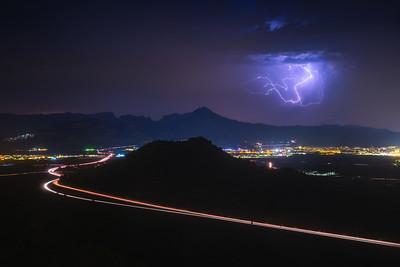 Lightning Over Gandia 2