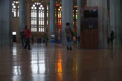 Tourists In La Sagrada