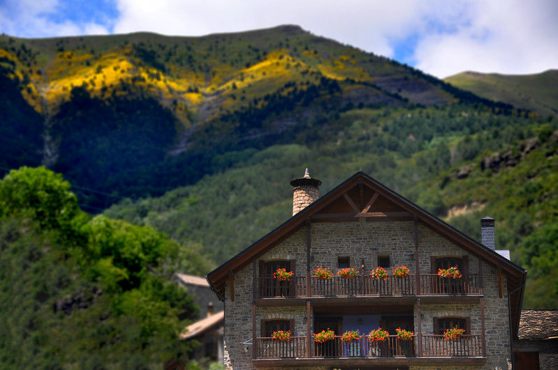 A house in the Pyrenees. 2011.