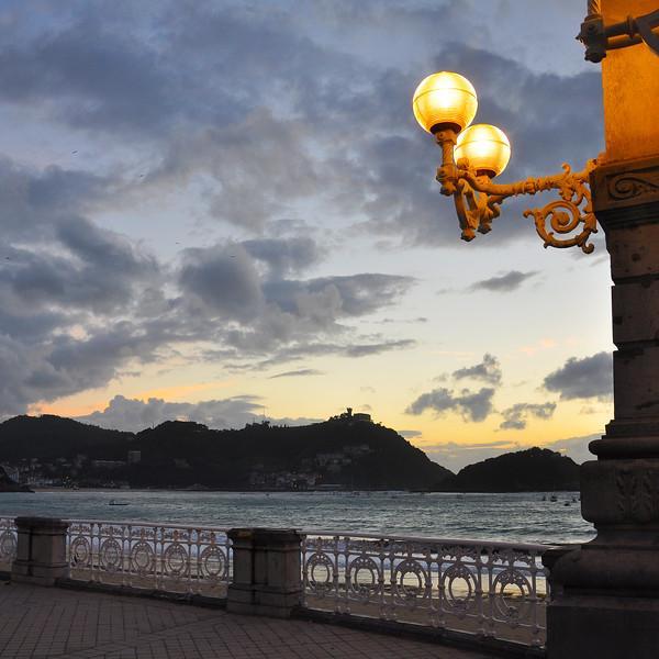 The Sunset in San Sebastián. 2011.