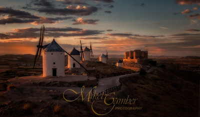 'Tilting at Windmills' - La Mancha