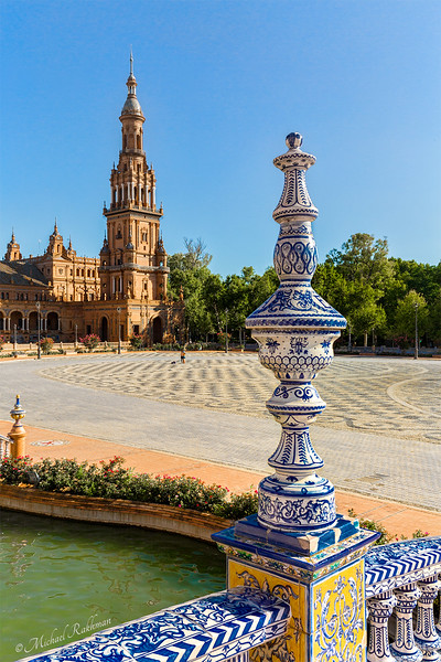 Sevilla, Spain - Plaza de España