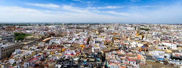 Sevilla, Giralda view