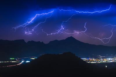Lightning Over Gandia