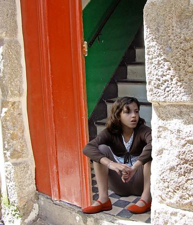 Girl in Vigo, spain