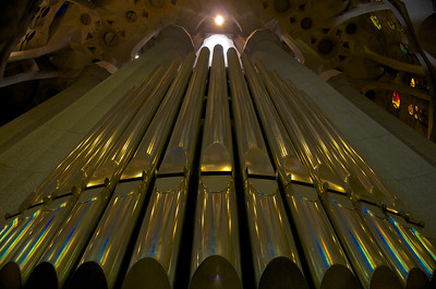 Sagrada Organ Pipes