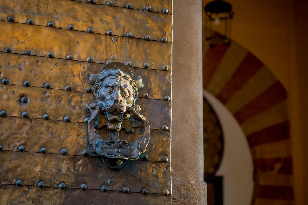 Door Detail - Mezquita
