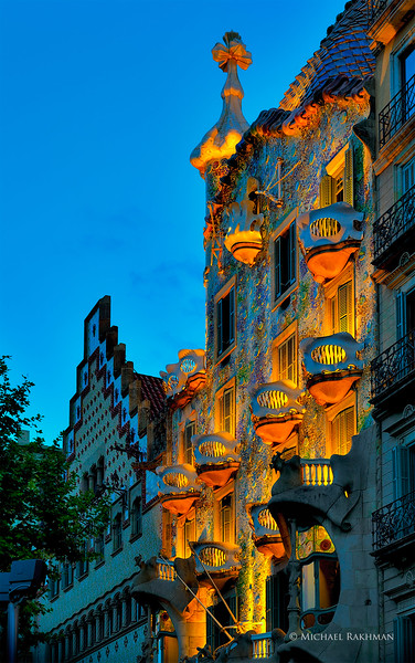 Casa Batlló - Barcelona, Spain - Antoni Gaudi