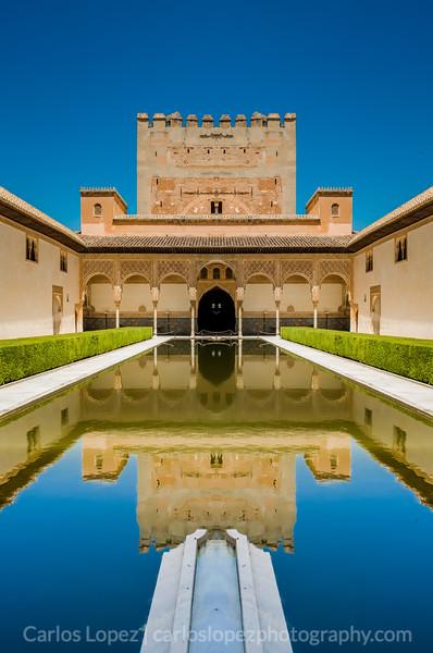 Alhambra Pool Mirror