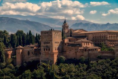 'The Alcazar' - Granada