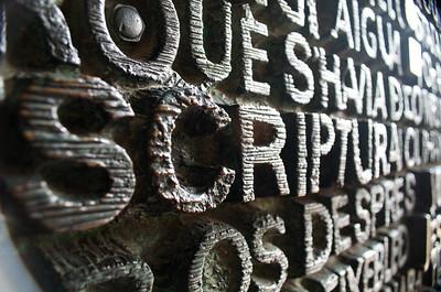 Scripture Door