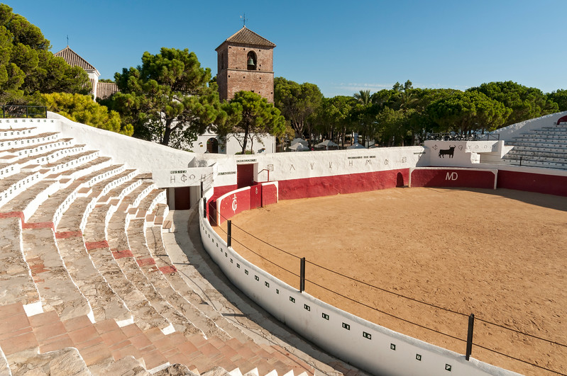 Bullring of Mijas, Andalusia, Spain