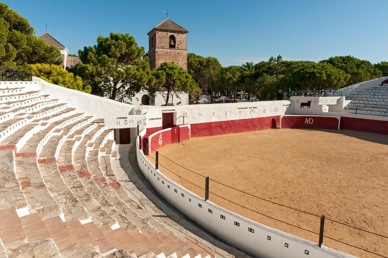Bullring of Mijas, Andalusia, Spain