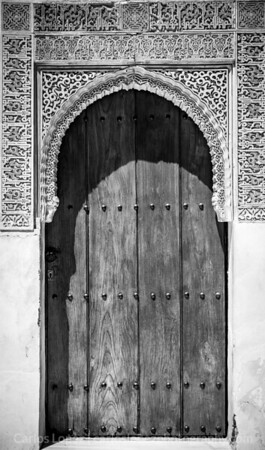 Door, Patio de Comares