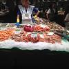 At market on the Rambla