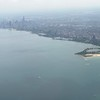 approaching Chicago airport for transfer and great lunch at Frontera Restaurant.