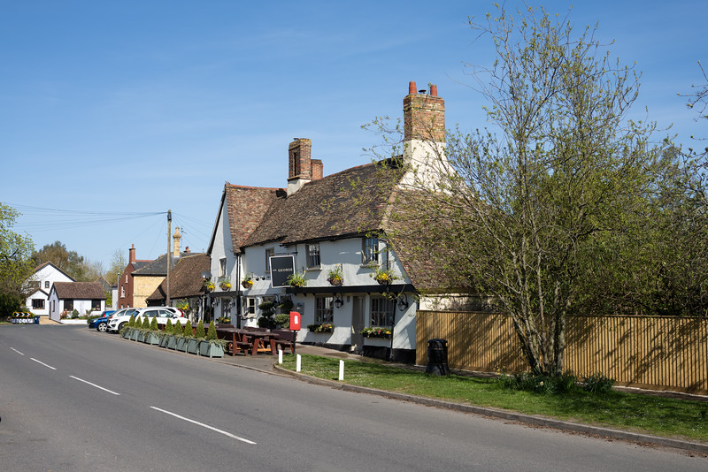 The George in Spaldwick closed