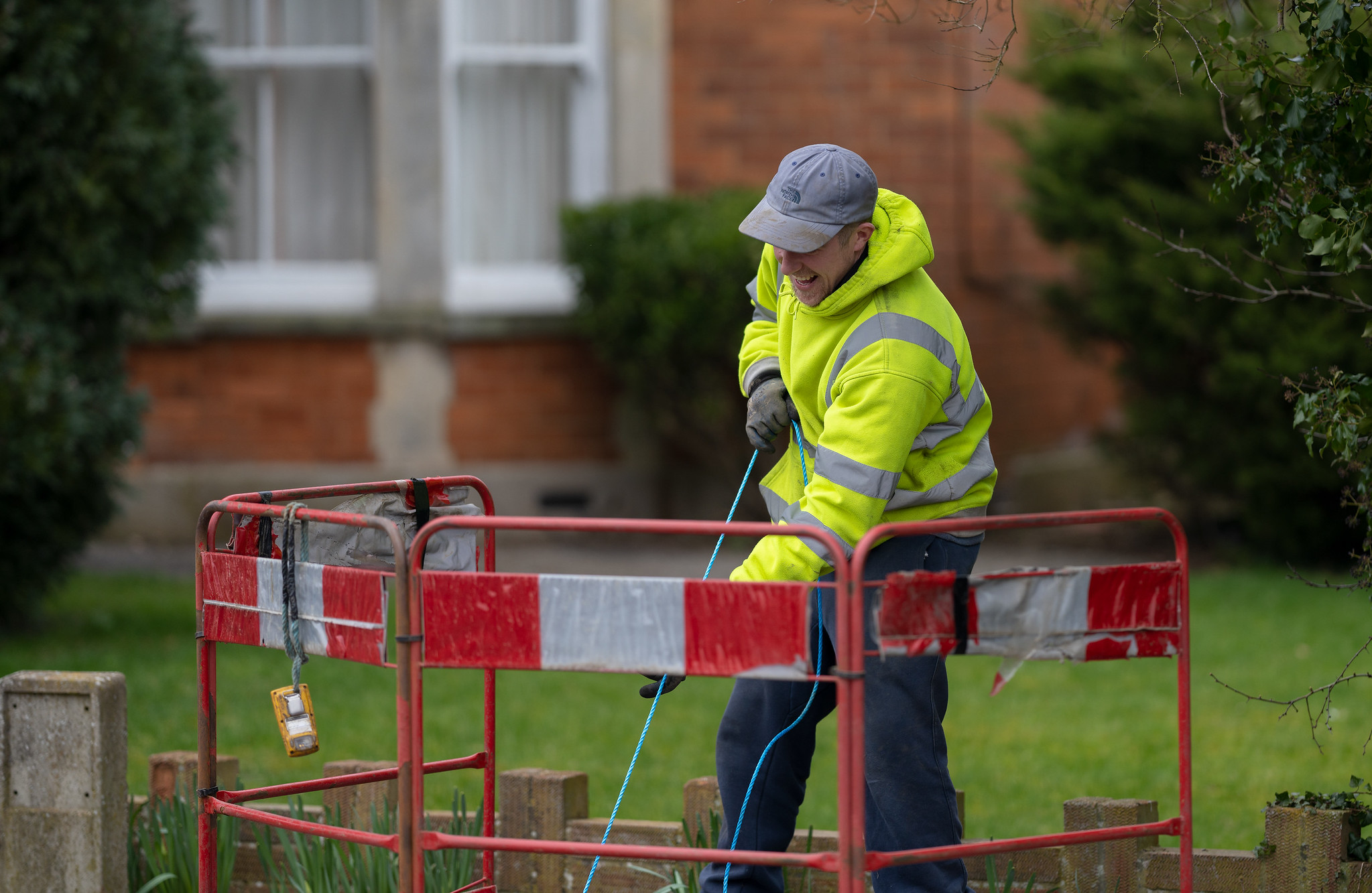 Cable Pulled Through - High Street (2 Mar 2021)