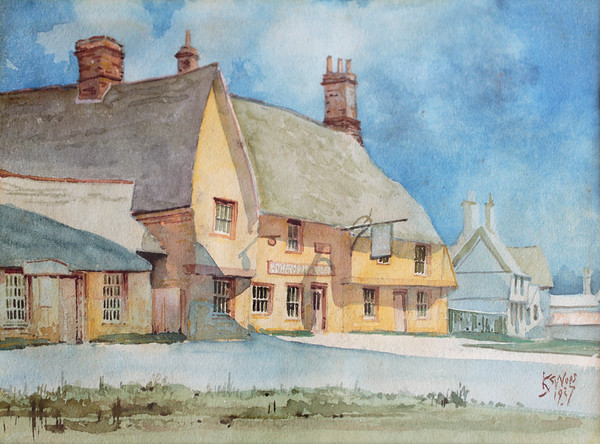 Painting of The George (1937)
