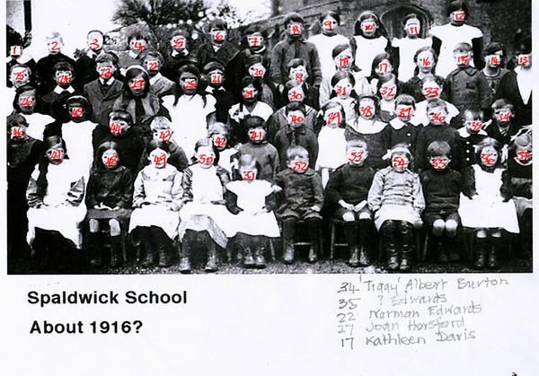 Spaldwick school Provided by Elizabeth Smith