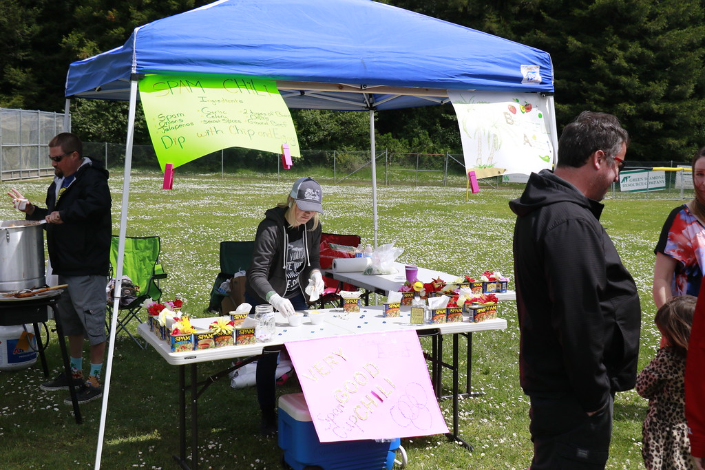 . Spam chili was one of the creations available at the Spamley Cup. (Hunter Cresswell - The Times-Standard)