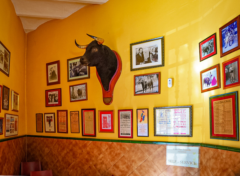 One Brave Bull - a bar near the arena