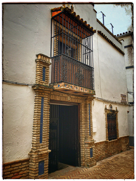 Balcony in the Barrio of Santa Cruz
