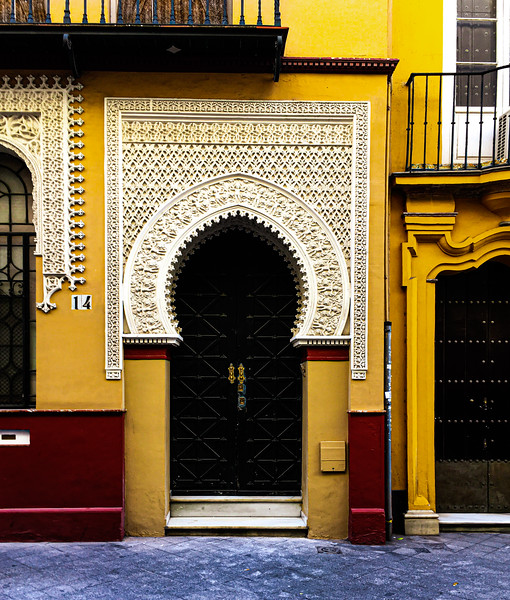 Doorway - moorish style