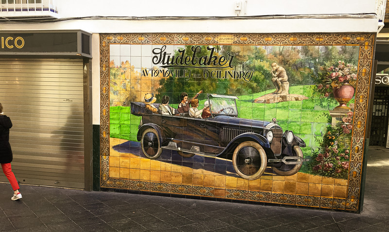 Studebaker Wall tiles