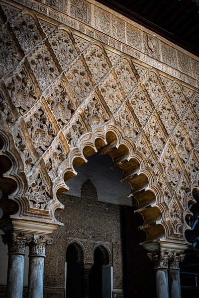 Moorish design. Real Alcazar