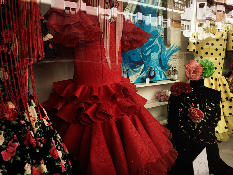 Dresses for the flamenco