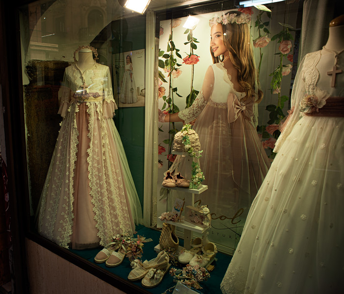 Dresses for the first communion