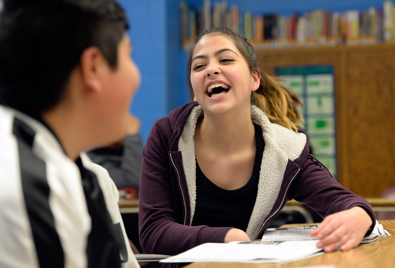 Spanish language arts class