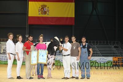 Spanish National Holstein Show Junior Show 2016