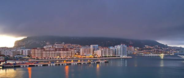 Gibraltar, October 24, 2017