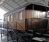 Private saloon JMR, Madrid Railway Museum, 10 May 2014.  Four wheel coach built about 1902 by the Ashbury Carriage & Iron Co, Manchester.
