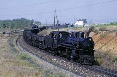 Ponferrada Vilablino railway, Spain, 1972